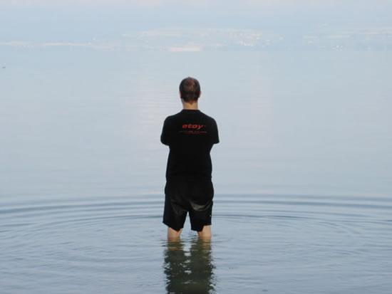 Misty Lake of Neuchâtel